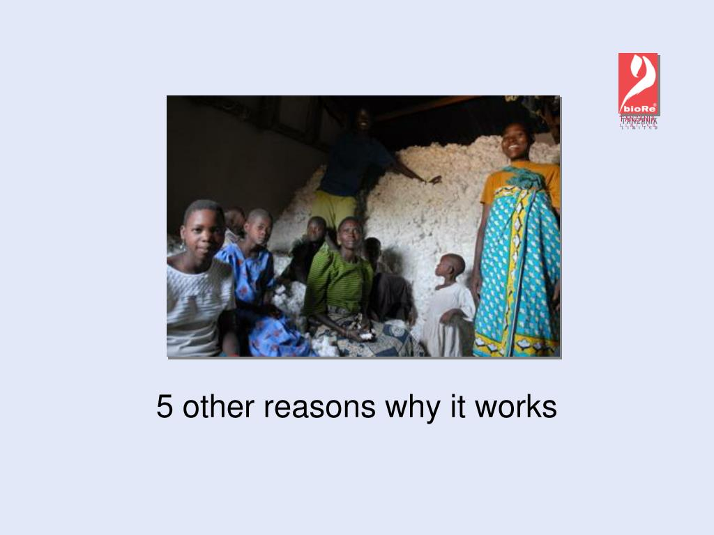 5 other reasons why it works