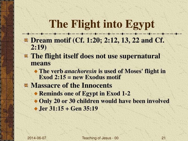 The Flight into Egypt
