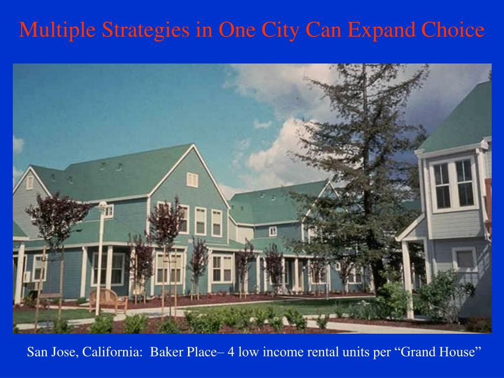 Multiple Strategies in One City Can Expand Choice