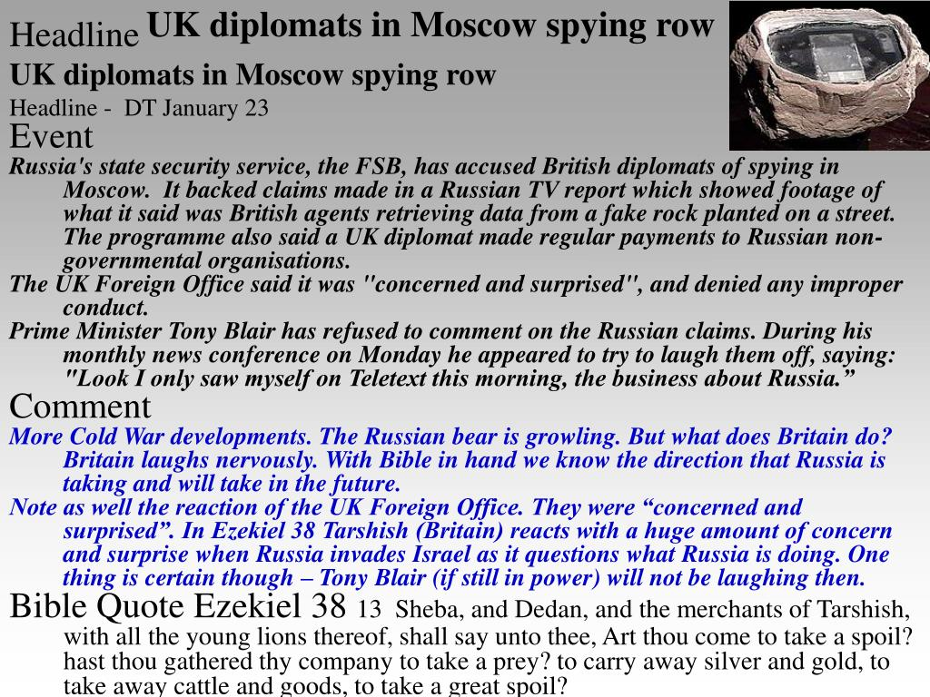 UK diplomats in Moscow spying row