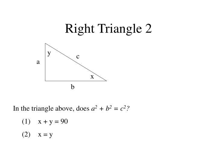 Right Triangle 2