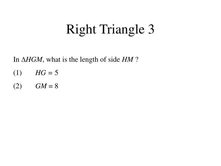 Right Triangle 3