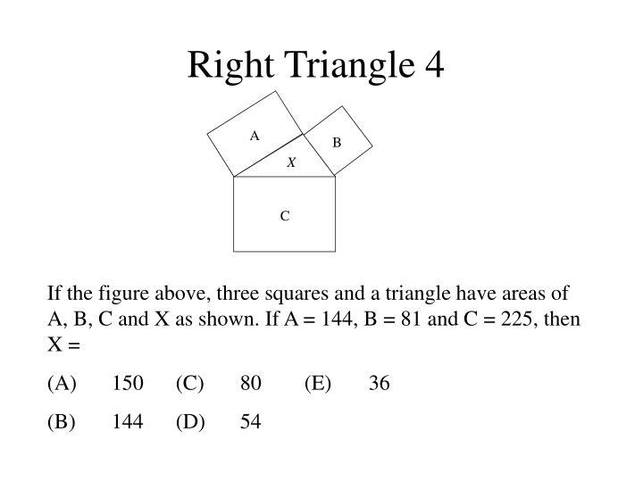 Right Triangle 4