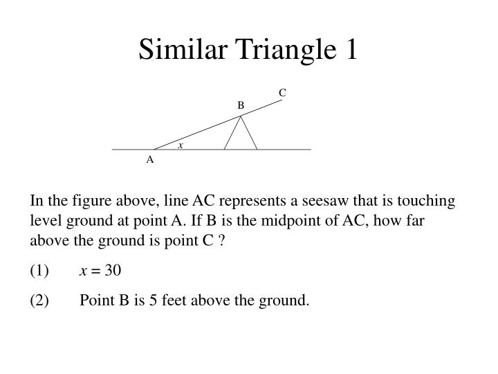 Similar Triangle 1