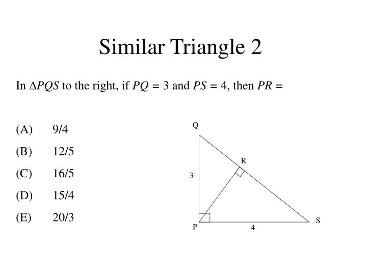 Similar Triangle 2