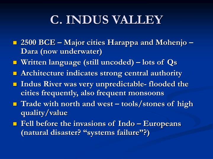 C. INDUS VALLEY