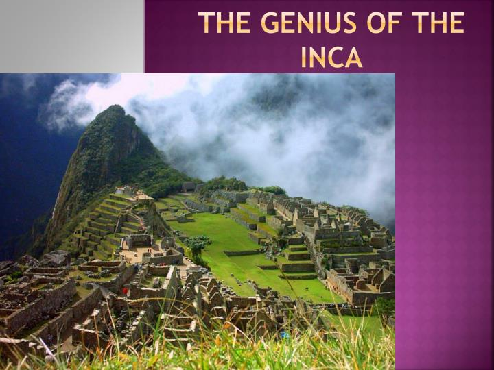 The genius of the inca