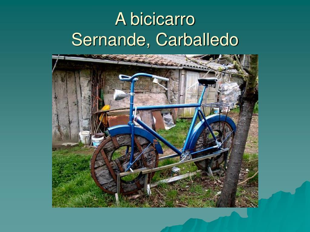 A bicicarro