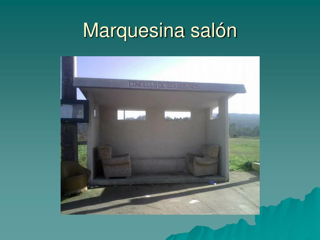 Marquesina salón