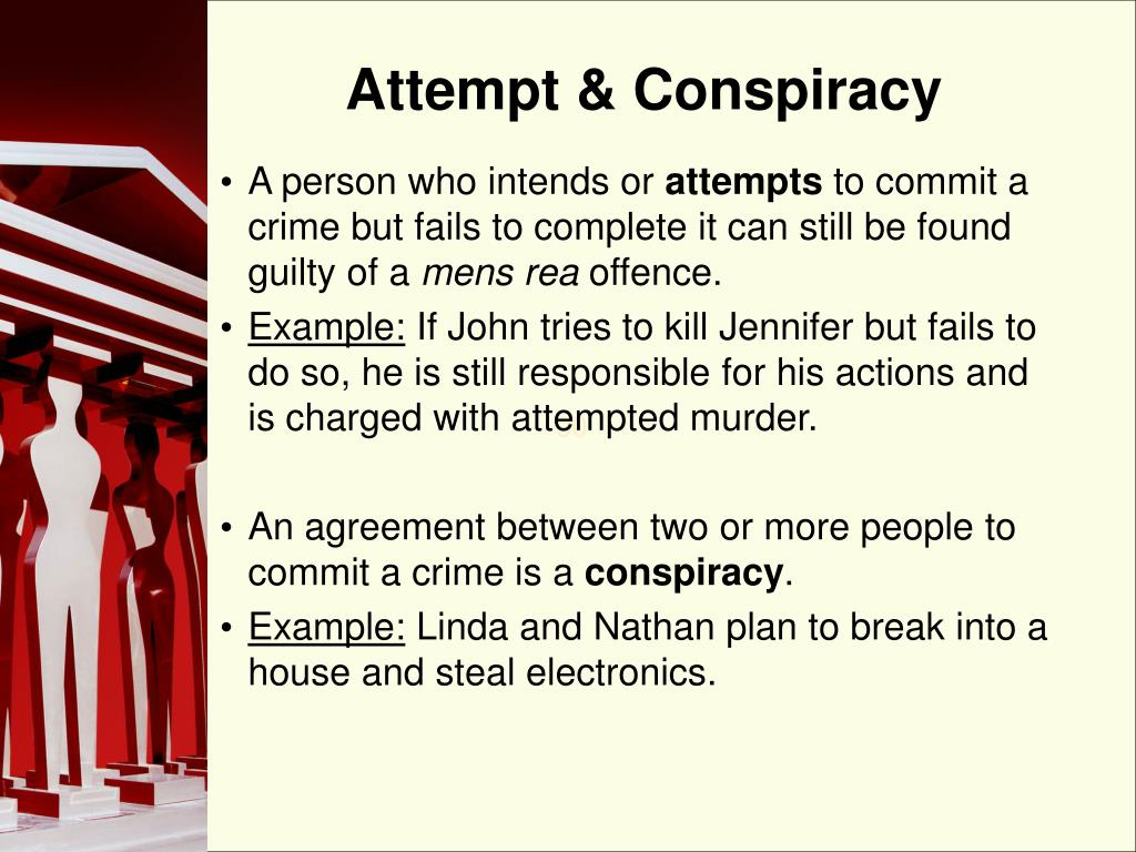 Attempt & Conspiracy