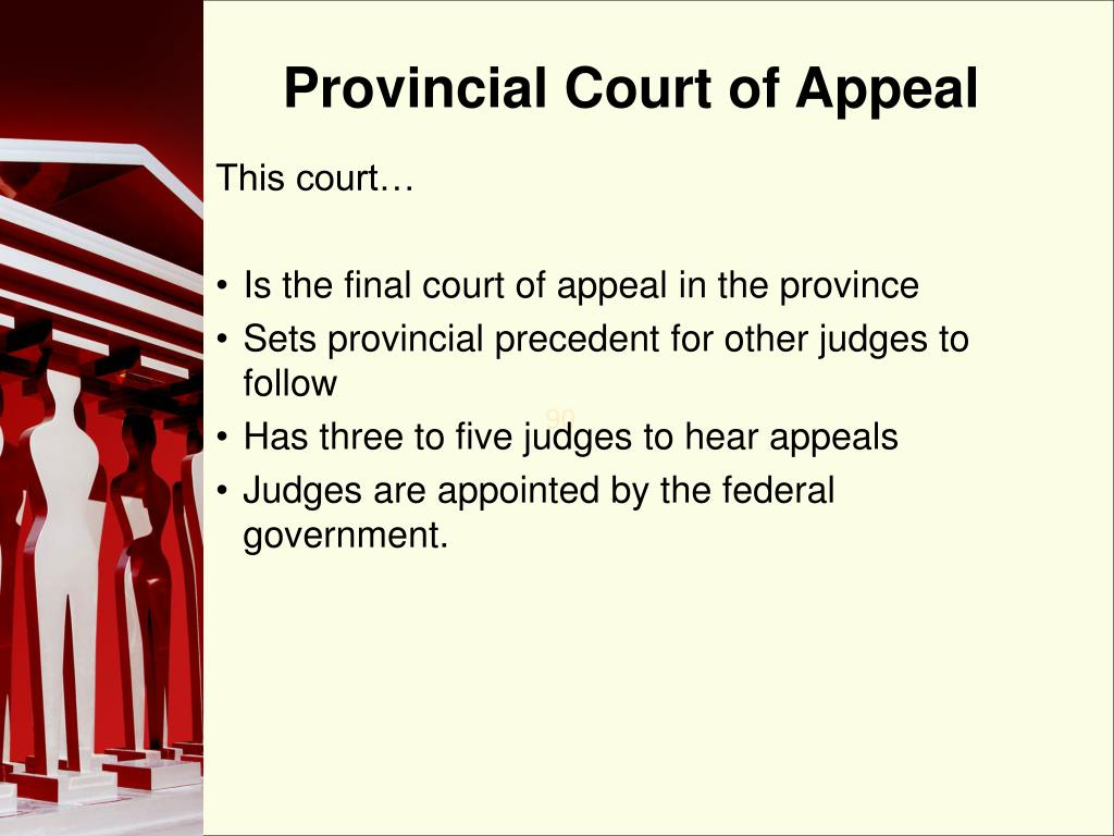 Provincial Court of Appeal