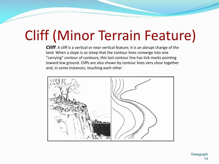 Cliff (Minor Terrain Feature)