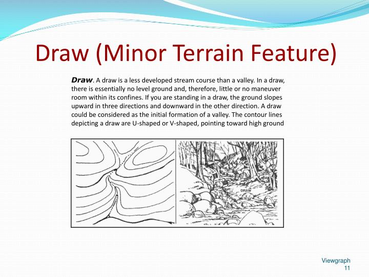 Draw (Minor Terrain Feature