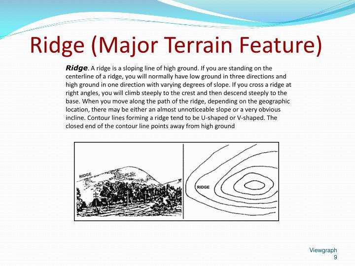 Ridge (Major Terrain Feature)