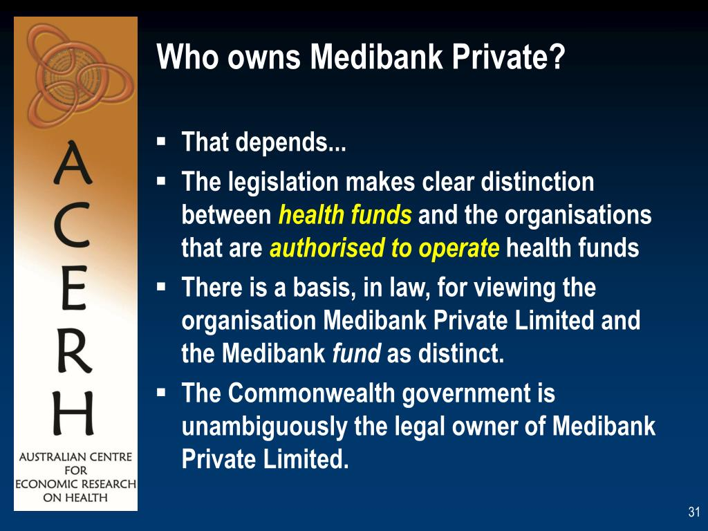 Who owns Medibank Private?