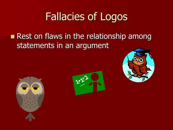 Fallacies of Logos