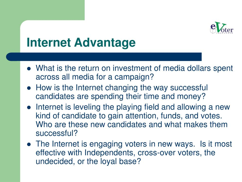 Internet Advantage