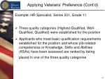 applying veterans preference cont d2