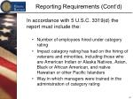 reporting requirements cont d1