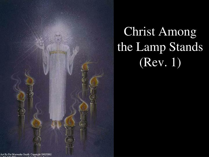 Christ Among the Lamp Stands