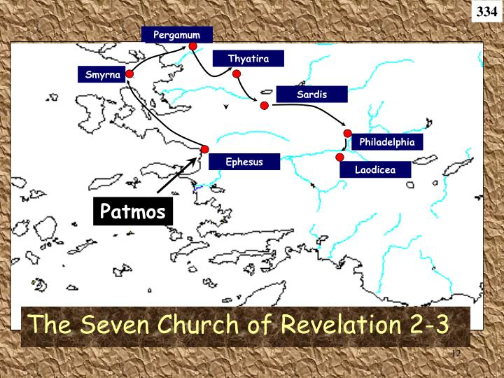 The Seven Church of Revelation 2-3