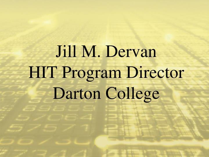 Jill M. Dervan
