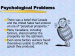 psychological problems