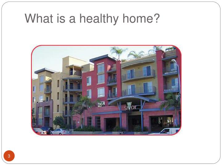 What is a healthy home