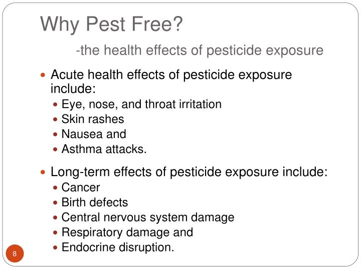Why Pest Free?