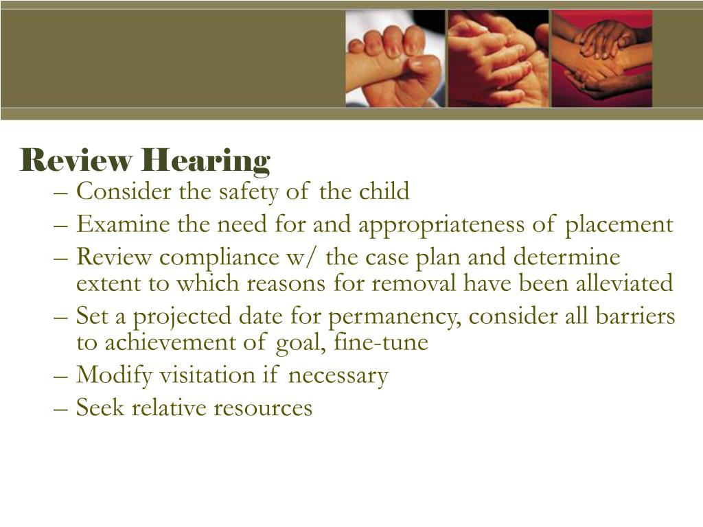 Review Hearing