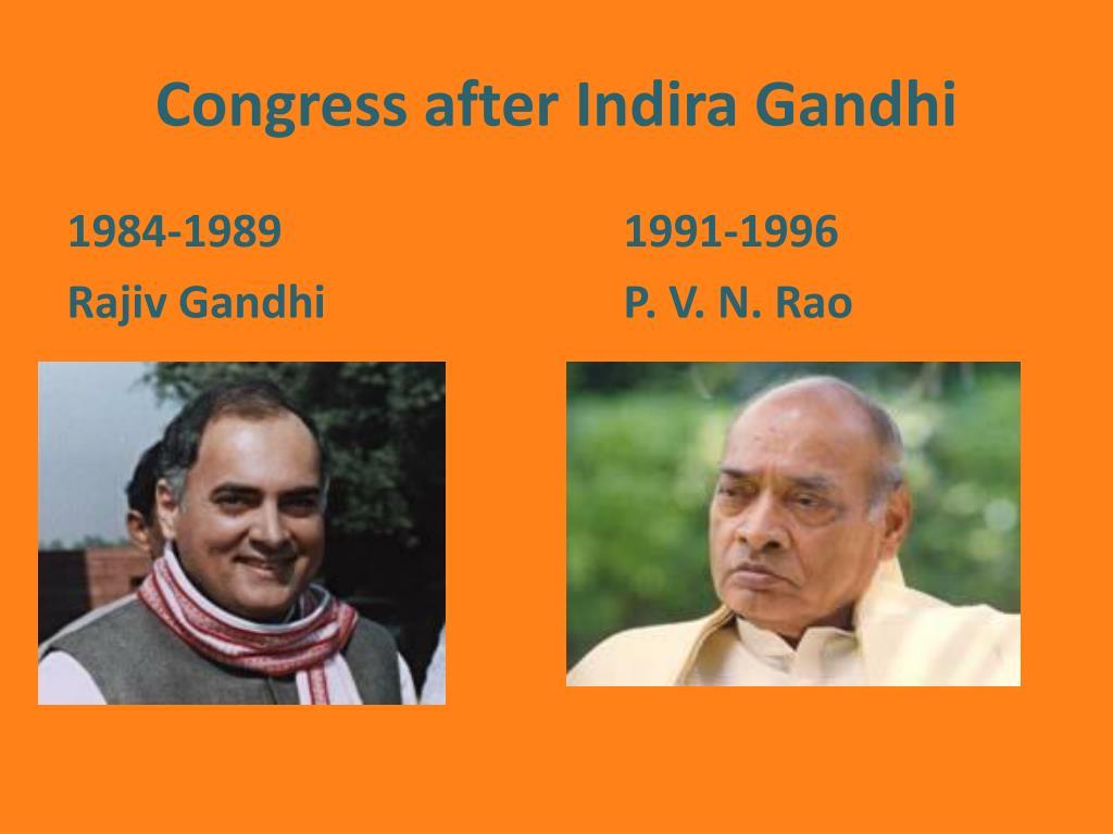 Congress after