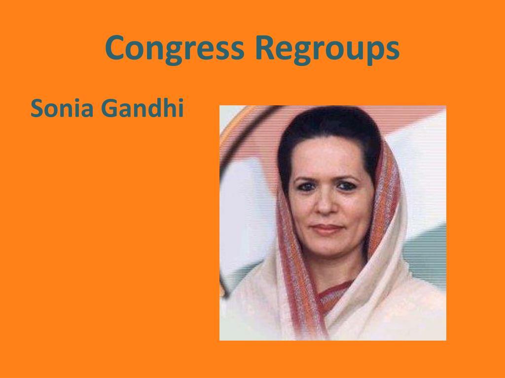 Congress Regroups