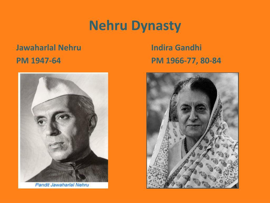 Nehru Dynasty