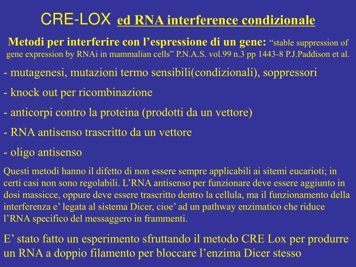 CRE-LOX