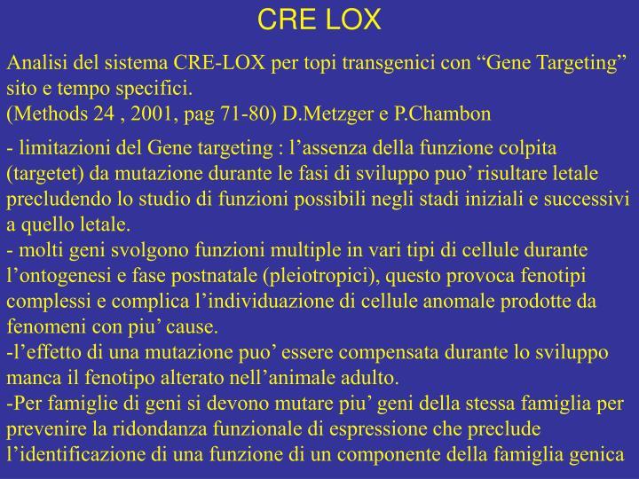 CRE LOX