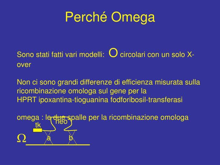 Perché Omega