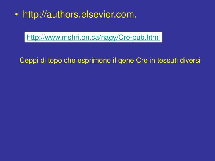 http://www.mshri.on.ca/nagy/Cre-pub.html