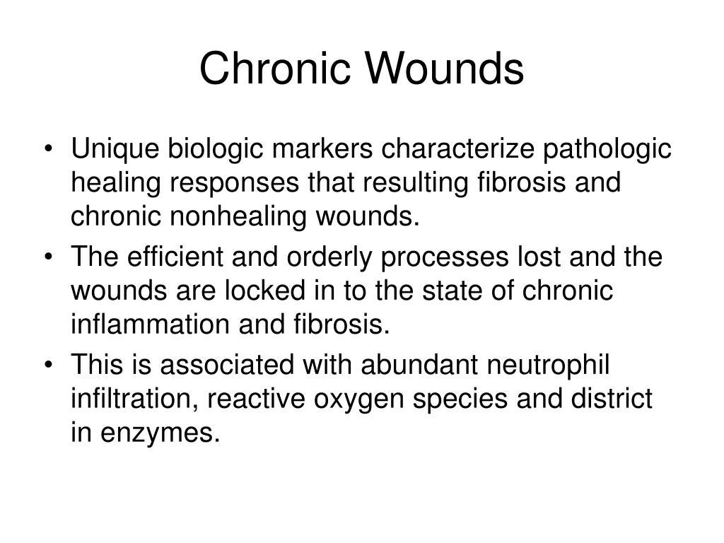 Chronic Wounds