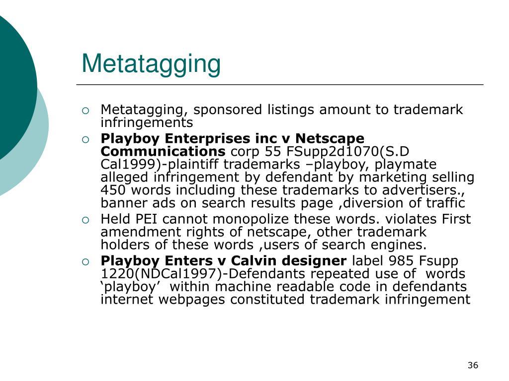 Metatagging