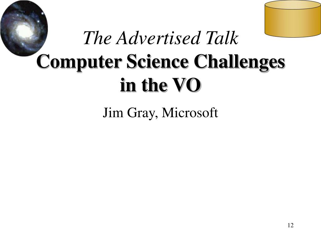 The Advertised Talk