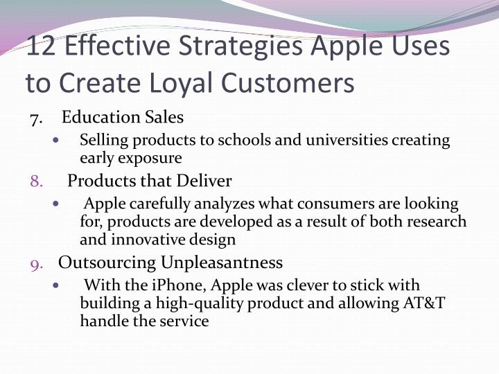 12 Effective Strategies Apple Uses to Create Loyal Customers