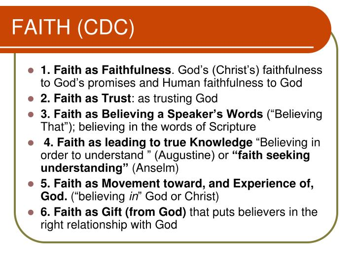 FAITH (CDC)