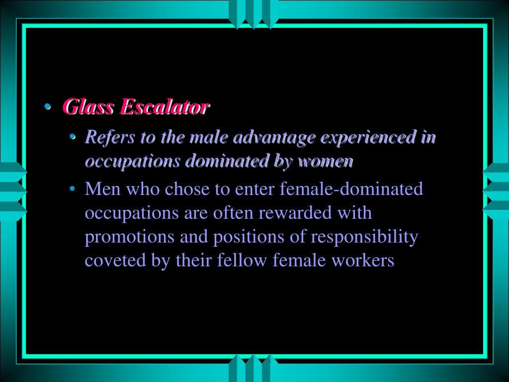 Glass Escalator