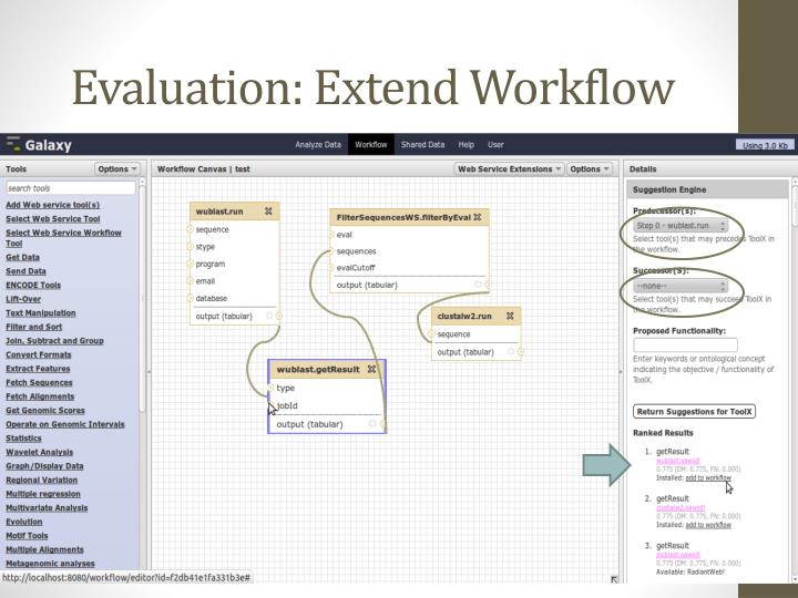 Evaluation: Extend Workflow
