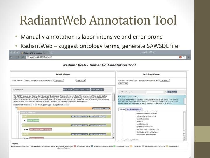 RadiantWeb Annotation Tool