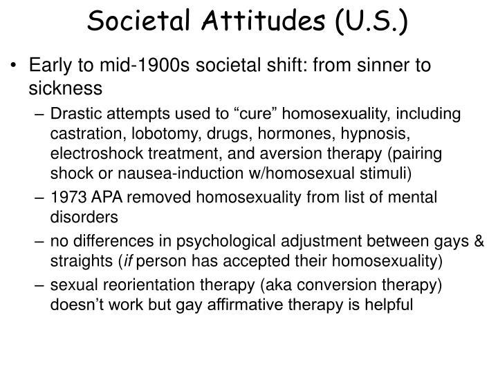 Societal Attitudes (U.S.)