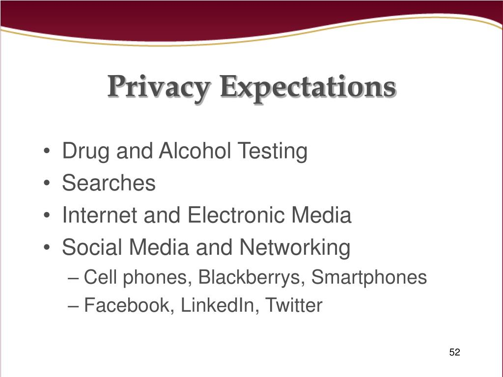 Privacy Expectations