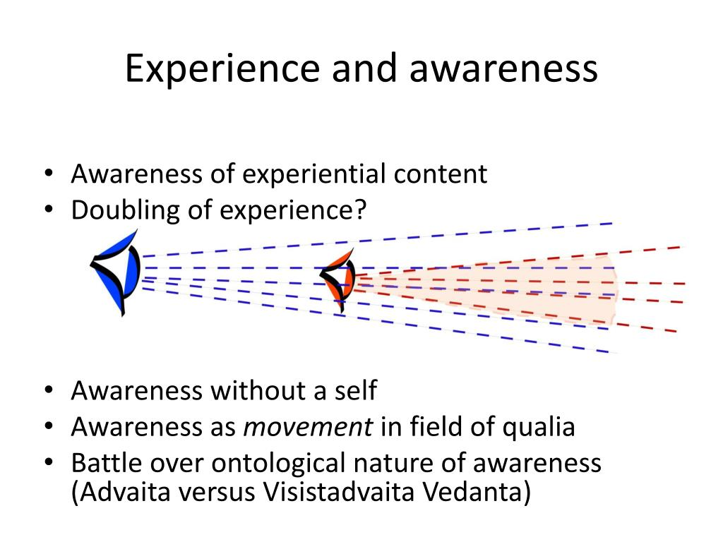 Experience and awareness