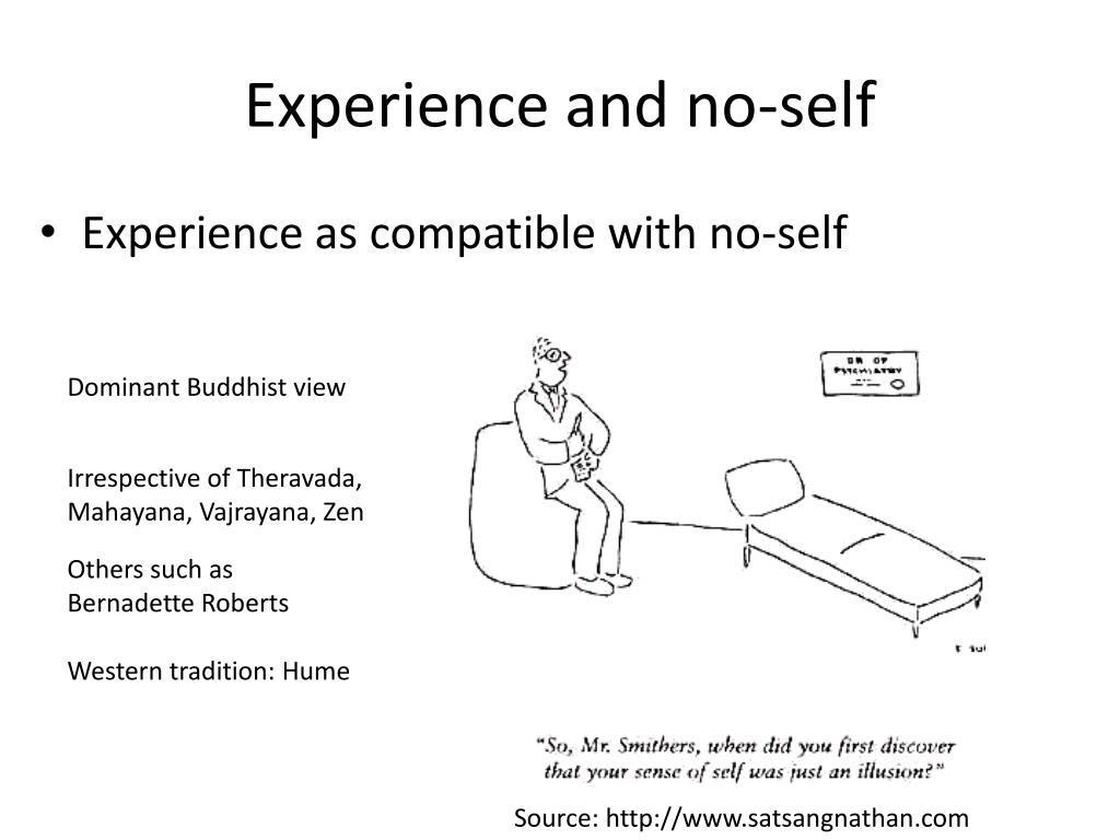Experience and no-self