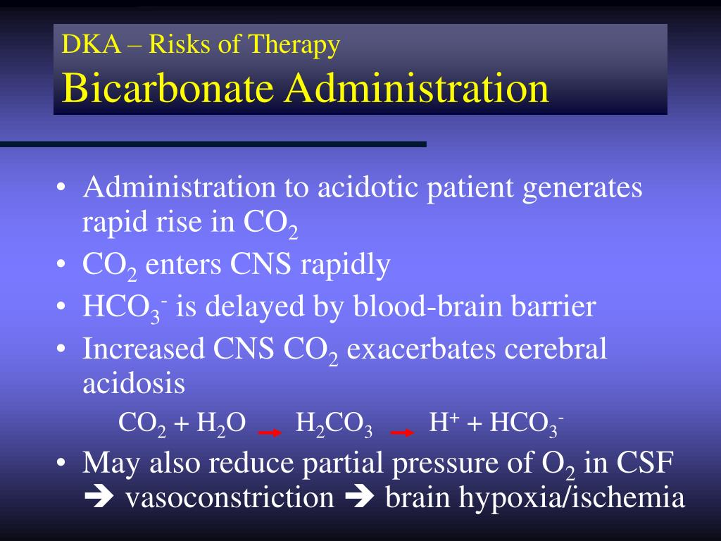DKA – Risks of Therapy